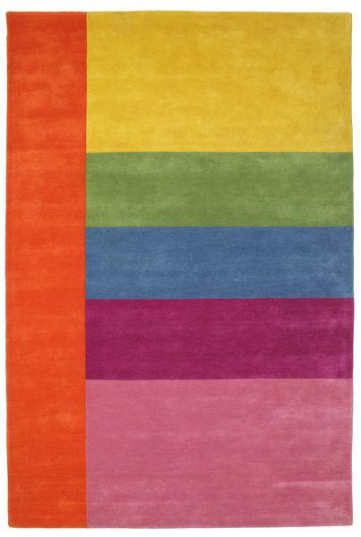 Colors By Meja Handtufted Covor 200X300 Modern Roz/Galben (Lână, India)