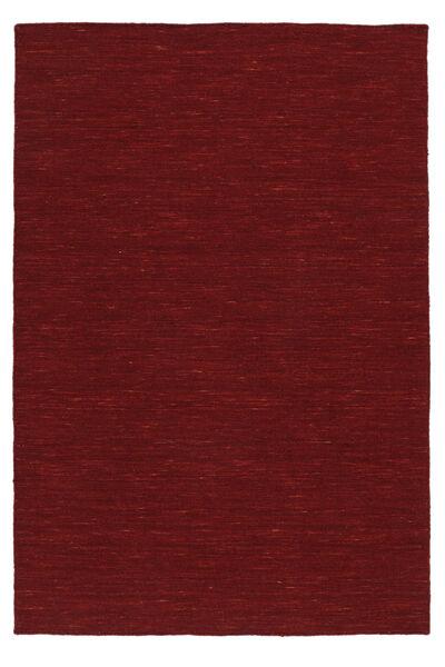 Chilim Loom - Dark Red Covor 120X180 Modern Lucrate De Mână Roşu (Lână, India)