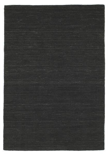 Chilim Loom - Negru Covor 120X180 Modern Lucrate De Mână Negru (Lână, India)