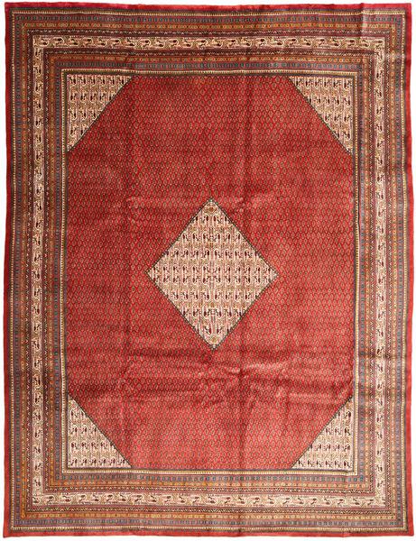 Mahal Covor 293X390 Orientale Lucrat Manual Roșu-Închis/Ruginiu Mare (Lână, Persia/Iran)