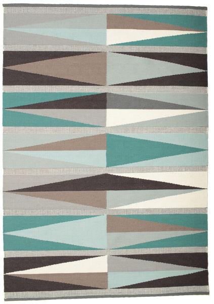 Terence Covor 160X230 Modern Lucrate De Mână Gri Deschis/Bej (Lână, India)