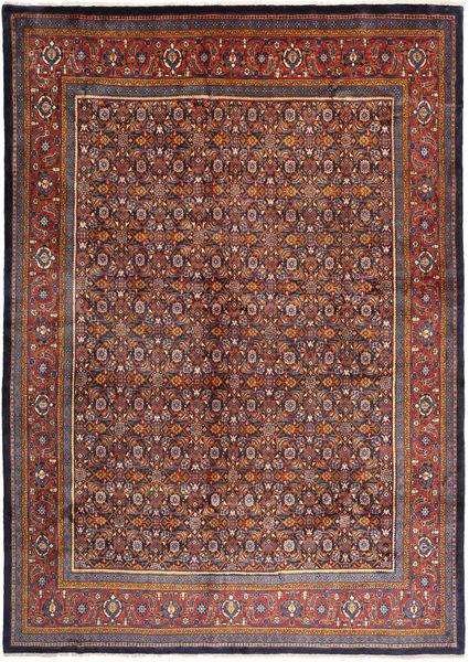 Mahal Covor 292X410 Orientale Lucrat Manual Roșu-Închis/Maro Închis Mare (Lână, Persia/Iran)