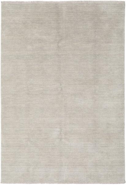 Handloom Fringes - Greige Covor 160X230 Modern Gri Deschis (Lână, India)