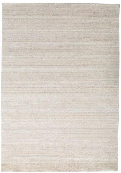 Bamboo Mătase Loom - Bej Covor 160X230 Modern Gri Deschis ( India)