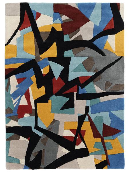 Stefan Covor 160X230 Modern Albastru/Negru (Lână, India)