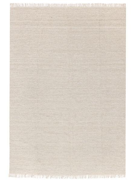 Melange - Sand Covor 140X200 Modern Lucrate De Mână Bej/Bej Închis (Lână, India)