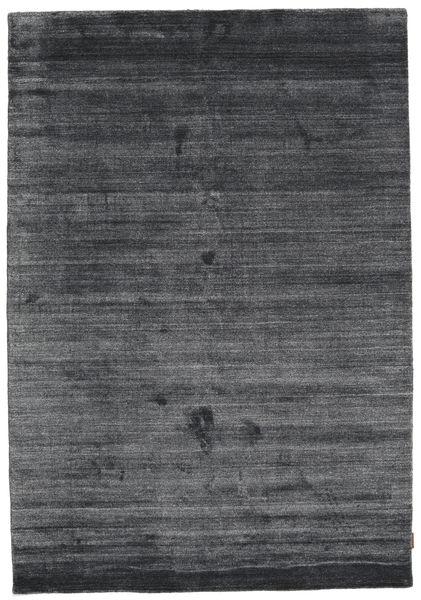 Bamboo Mătase Loom - Charcoal Covor 160X230 Modern Violet Deschis/Negru/Gri Închis ( India)