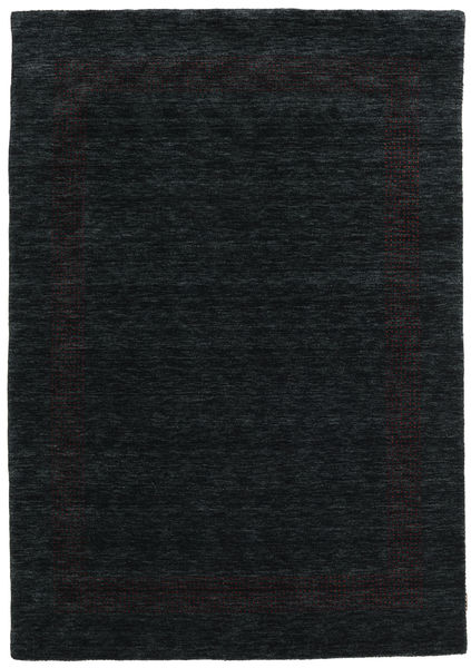Handloom Gabba - Negru/Gri Covor 160X230 Modern Negru (Lână, India)