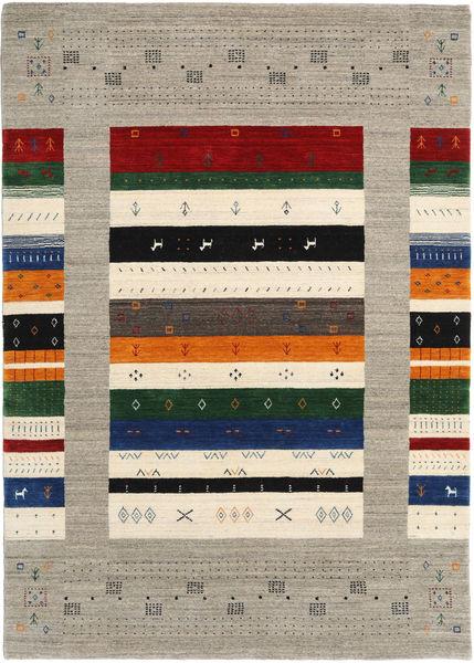 Loribaf Loom Designer Covor 160X230 Modern Gri Deschis/Bej (Lână, India)