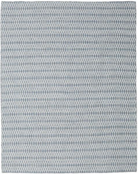 Chilim Long Stitch - Albastru Covor 240X300 Modern Lucrate De Mână Gri Deschis/Albastru Deschis (Lână, India)