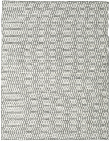 Chilim Long Stitch - Gri Covor 190X240 Modern Lucrate De Mână Gri Deschis/Bej (Lână, India)