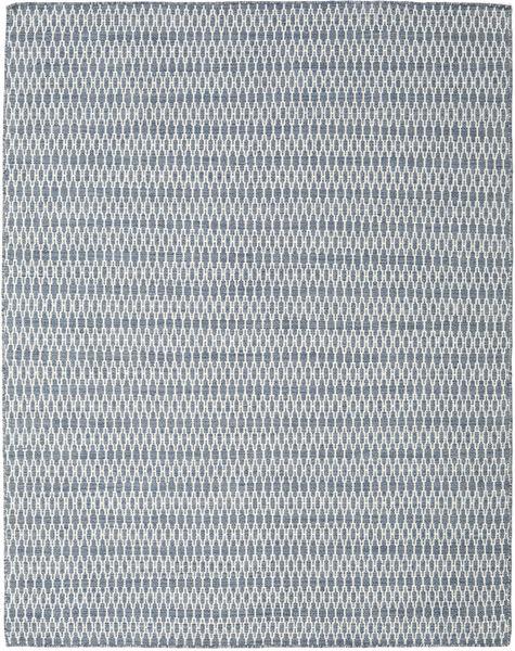 Chilim Long Stitch - Albastru Covor 190X240 Modern Lucrate De Mână Gri Deschis/Albastru Deschis (Lână, India)