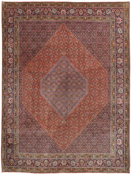 Bidjar Covor 300X407 Orientale Lucrat Manual Roșu-Închis/Maro Închis Mare (Lână, Persia/Iran)