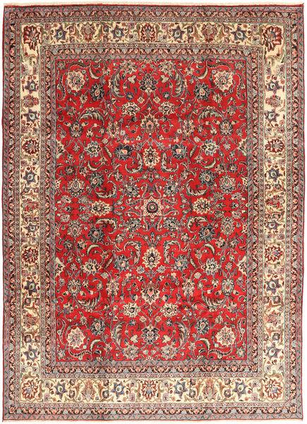 Hamadan Shahrbaf Covor 235X327 Orientale Lucrat Manual Roșu-Închis/Ruginiu (Lână, Persia/Iran)
