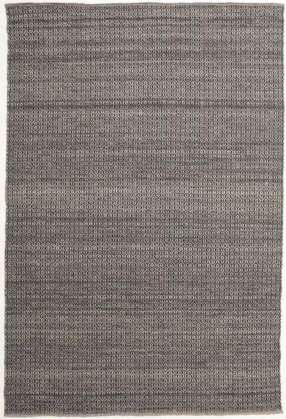 Alva - Maro/Negru Covor 200X300 Modern Lucrate De Mână Gri Închis/Gri Deschis (Lână, India)