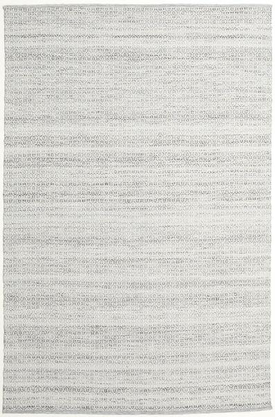 Alva - Gri/White Covor 200X300 Modern Lucrate De Mână Gri Deschis (Lână, India)