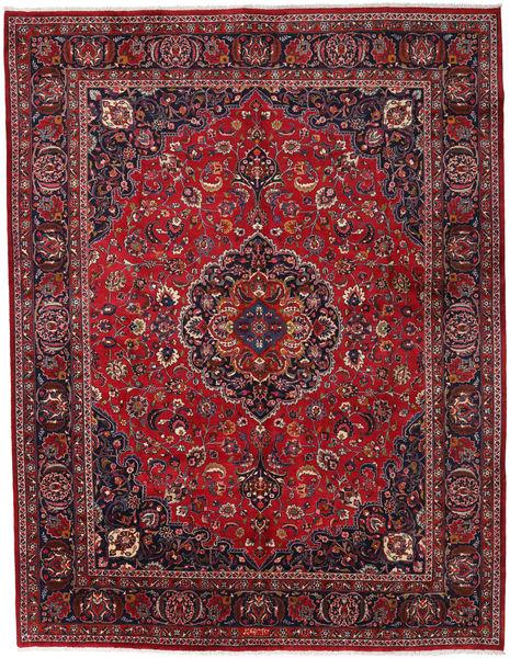 Mashhad Covor 300X389 Orientale Lucrat Manual Roșu-Închis/Roşu Mare (Lână, Persia/Iran)