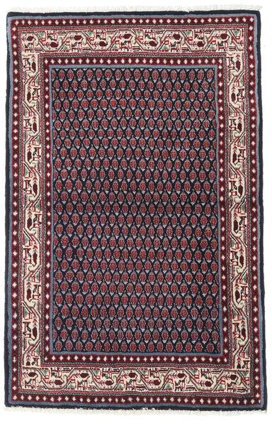 Sarouk Mir Covor 97X151 Orientale Lucrat Manual Negru/Roșu-Închis (Lână, Persia/Iran)