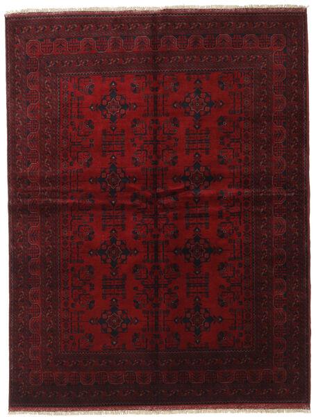 Afghan Khal Mohammadi Covor 175X228 Orientale Lucrat Manual Roșu-Închis (Lână, Afganistan)