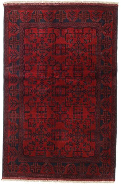 Afghan Khal Mohammadi Covor 127X195 Orientale Lucrat Manual Roșu-Închis (Lână, Afganistan)