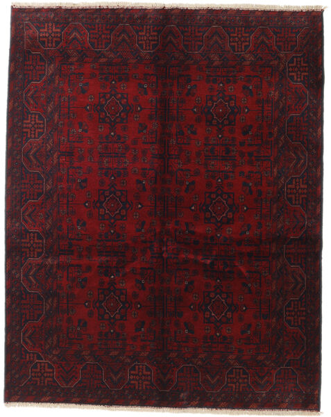 Afghan Khal Mohammadi Covor 155X195 Orientale Lucrat Manual Roșu-Închis (Lână, Afganistan)