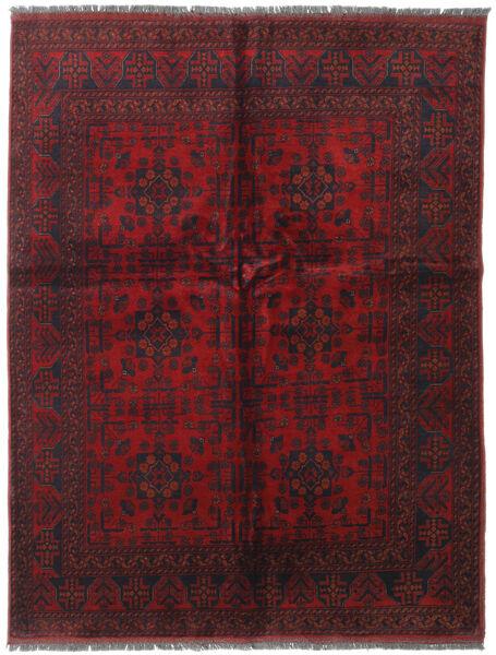 Afghan Khal Mohammadi Covor 152X196 Orientale Lucrat Manual Roșu-Închis (Lână, Afganistan)