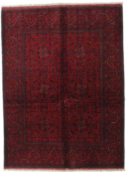 Afghan Khal Mohammadi Covor 150X199 Orientale Lucrat Manual Roșu-Închis (Lână, Afganistan)