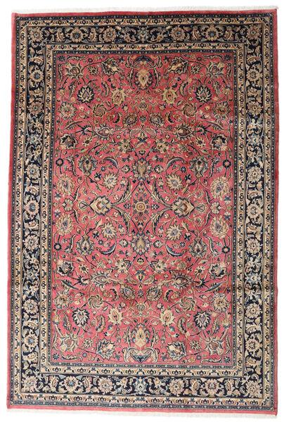 Mashhad Covor 186X315 Orientale Lucrat Manual Gri Închis/Bej (Lână, Persia/Iran)