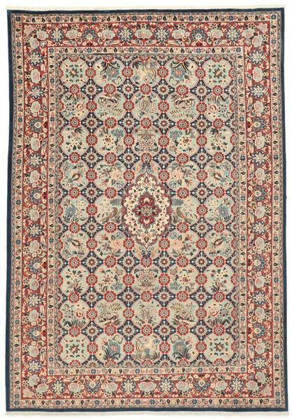 Varamin Covor 203X285 Orientale Lucrat Manual (Lână/Mătase, Persia/Iran)