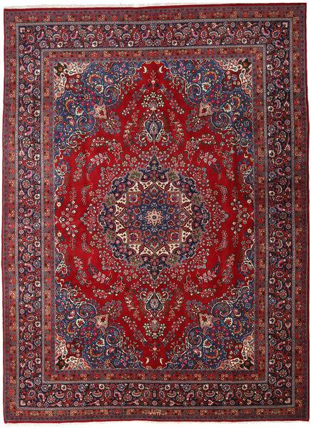 Mashhad Covor 290X395 Orientale Lucrat Manual Roșu-Închis/Roşu Mare (Lână, Persia/Iran)