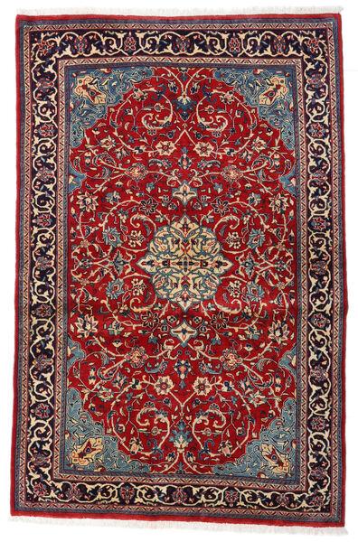 Sarouk Sherkat Farsh Covor 125X192 Orientale Lucrat Manual Roșu-Închis/Maro Închis (Lână, Persia/Iran)