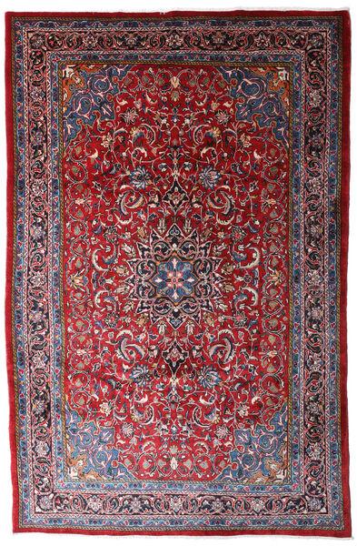 Mahal Covor 215X330 Orientale Lucrat Manual Roşu/Roșu-Închis (Lână, Persia/Iran)