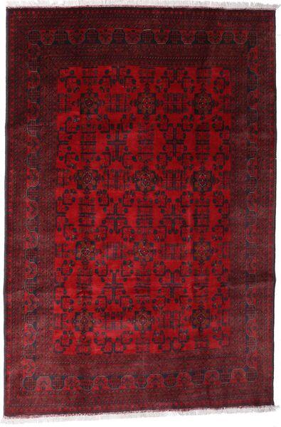 Afghan Khal Mohammadi Covor 192X288 Orientale Lucrat Manual Roșu-Închis/Maro Închis/Roşu (Lână, Afganistan)