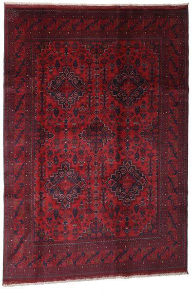 Afghan Khal Mohammadi Covor 199X291 Orientale Lucrat Manual Roșu-Închis (Lână, Afganistan)