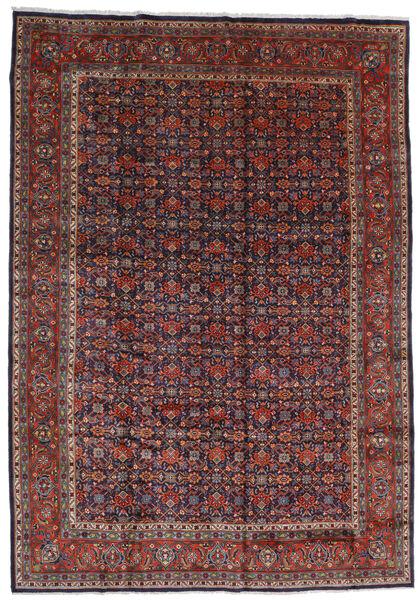 Mahal Covor 267X378 Orientale Lucrat Manual Roșu-Închis/Maro Închis Mare (Lână, Persia/Iran)