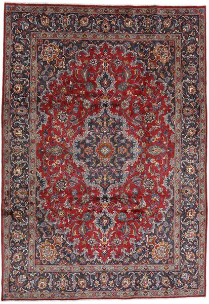 Mashhad Covor 244X348 Orientale Lucrat Manual Roșu-Închis/Mov Închis (Lână, Persia/Iran)