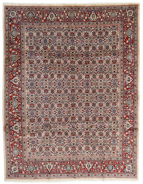 Mahal Covor 245X320 Orientale Lucrat Manual Bej/Maro Închis (Lână, Persia/Iran)