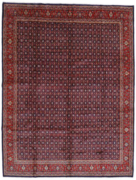Mahal Covor 300X393 Orientale Lucrat Manual Roșu-Închis/Negru Mare (Lână, Persia/Iran)