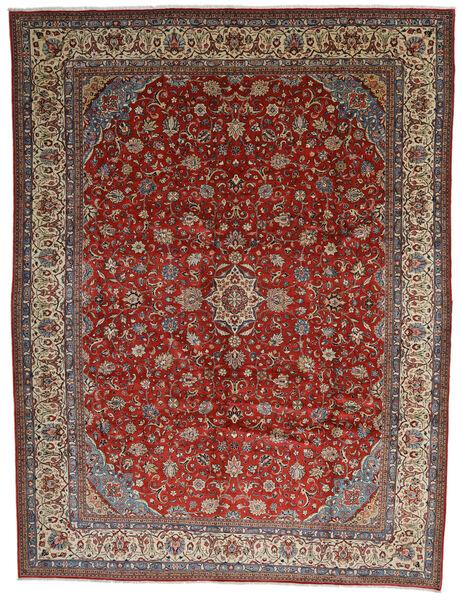 Sarouk Covor 325X425 Orientale Lucrat Manual Maro Închis/Roșu-Închis Mare (Lână, Persia/Iran)