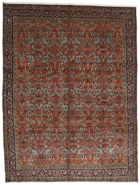 Tabriz Covor 302X396 Orientale Lucrat Manual Roșu-Închis/Maro Închis Mare (Lână, Persia/Iran)