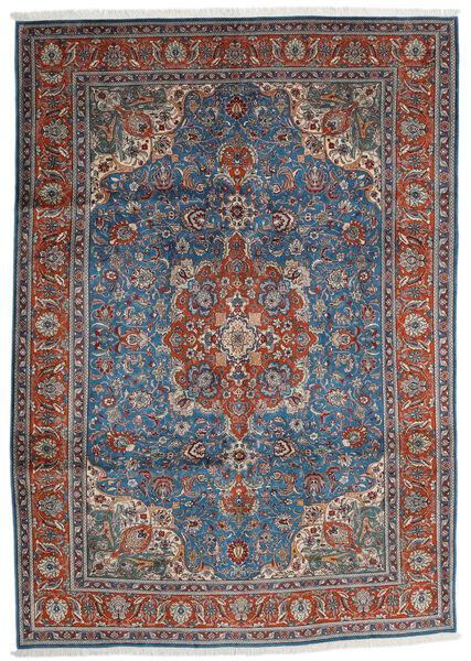 Tabriz Covor 204X290 Orientale Lucrat Manual Gri Închis/Gri Deschis (Lână, Persia/Iran)