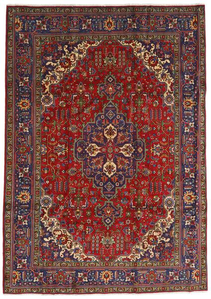 Tabriz Covor 240X333 Orientale Lucrat Manual Roșu-Închis/Gri Închis (Lână, Persia/Iran)