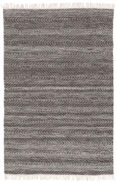 Chinara - Negru/White Covor 200X300 Modern Lucrate De Mână Gri Deschis/Gri Închis (Lână, India)