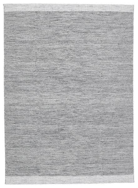 Serafina - Gri Închis Melange Covor 140X200 Modern Lucrate De Mână Gri Deschis (Lână, India)