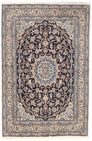 Nain Covor 163X249 Orientale Lucrat Manual Gri Deschis/Gri Închis (Lână, Persia/Iran)