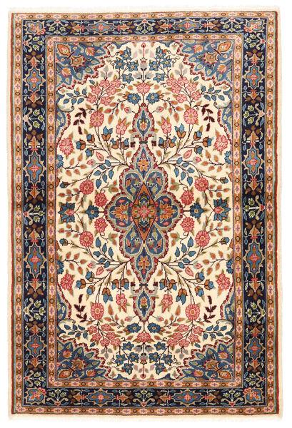 Sarouk Covor 100X149 Orientale Lucrat Manual Maro Închis/Bej Închis (Lână, Persia/Iran)