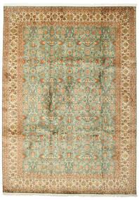 Kashmir Pură Mătase Covor 223X313 Orientale Lucrat Manual (Mătase, India)