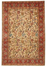 Tabriz Patina Figurativ/Pictural Semnat: Hadadian Covor 203X304 Orientale Lucrat Manual (Lână, Persia/Iran)