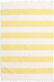 Cotton Stripe - Yellow Covor 140X200 Modern Lucrate De Mână Bej/Galben (Bumbac, India)