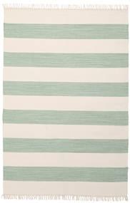 Cotton Stripe - Mint Covor 140X200 Modern Lucrate De Mână Bej/Verde Pastel (Bumbac, India)